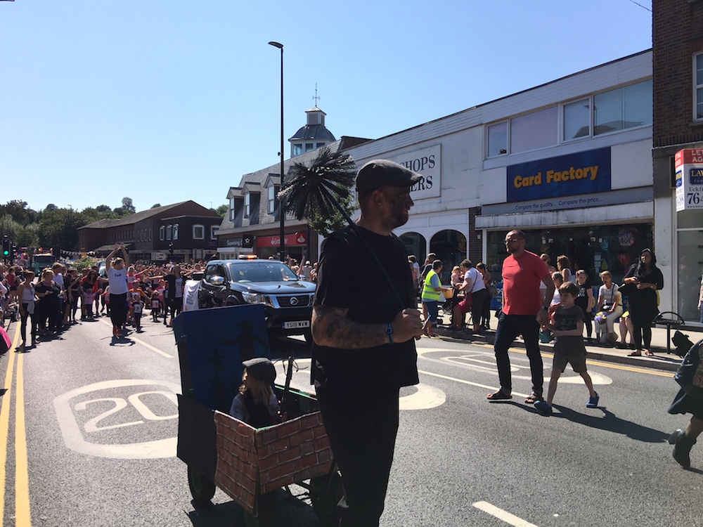 childrens-parade-sweep
