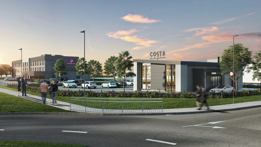 ashdown-business-park-costa-premier-inn-cgi