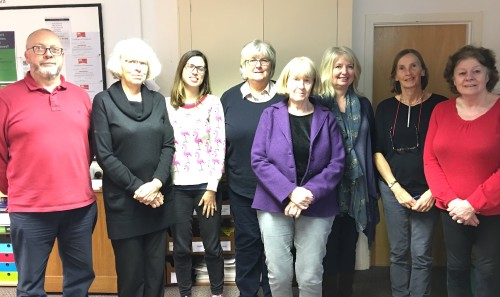 Volunteers at Uckfield Citizens Advice