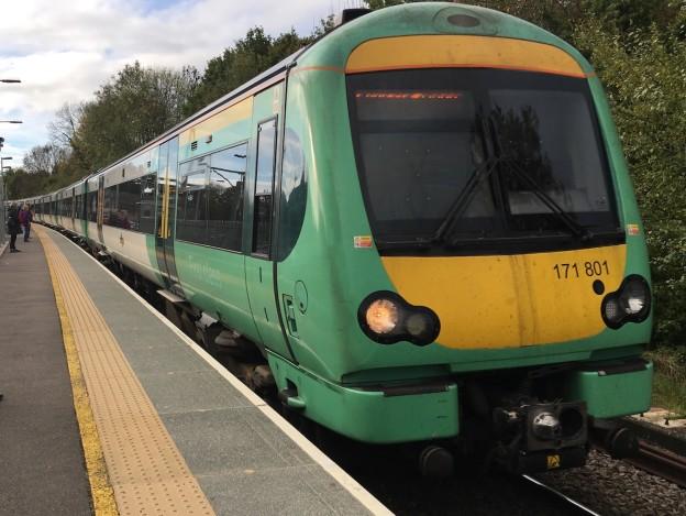 railway work between Uckfield and Buxted