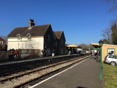 Islfield station - part of the Lavender Line