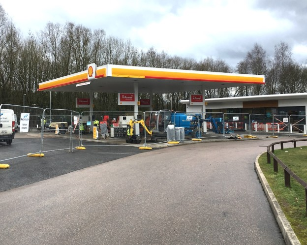 Shell garage at Mareafield to re-open