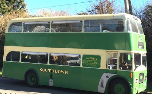 Southdown bus at Lavender Line