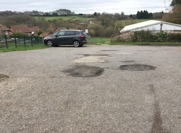 Resurfacing planned for the Hempstead Road car park in Uckfield