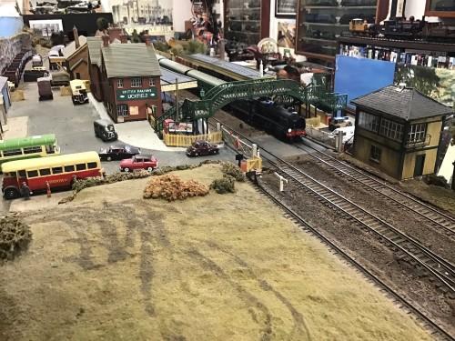 uckfield railway station model