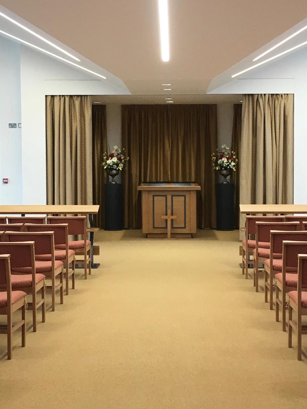 A Look Inside The New Horam Crematorium Uckfield News