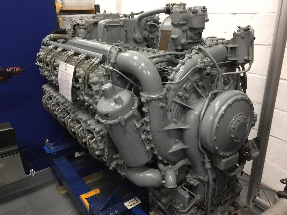 hawker-typhoon-engine