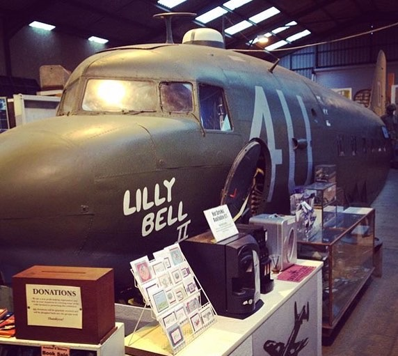 wings-museum-douglas-dc-3/c47-dakota-beautifully-restored-cockpit-and-fuselage-used-on-set-band-of-brothers