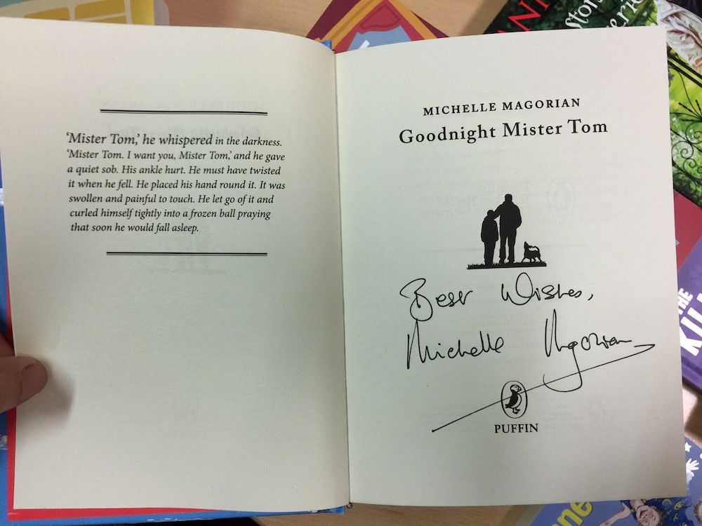 bonners-signed-book-michelle-magorian