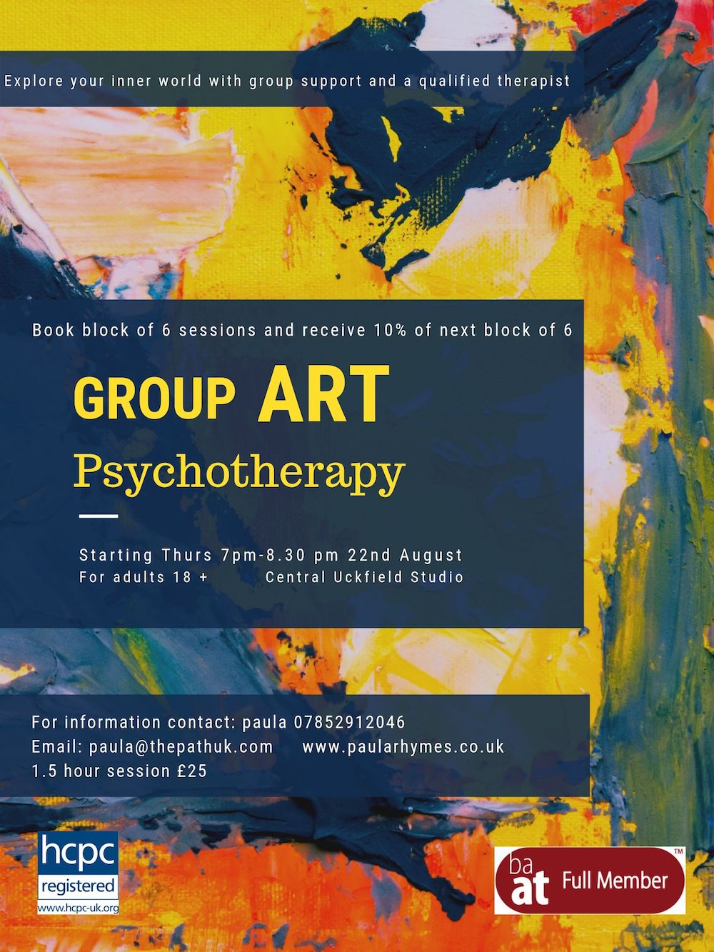 Art Psychotherapy Group-3