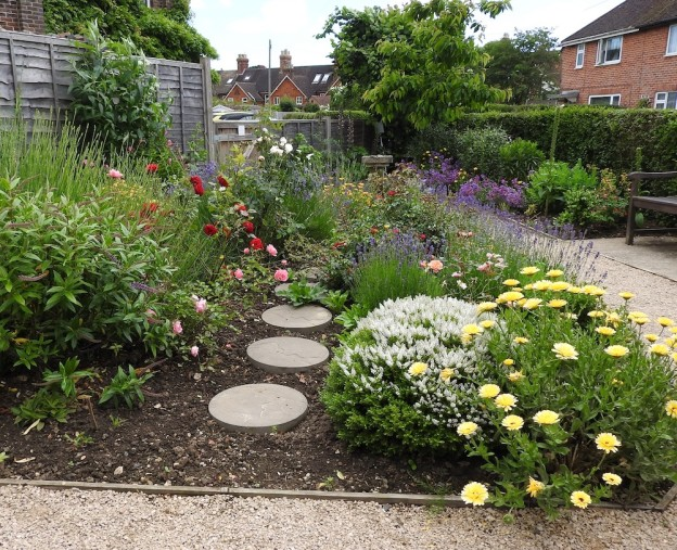 Keld Close community garden (Wealden District Council photo)
