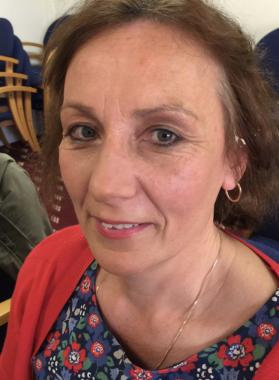 Uckfield town councillor Karen Bedwell