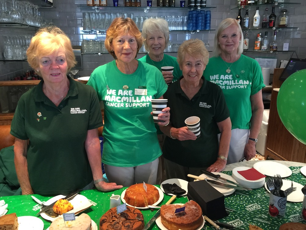 macmillan-pizza-express-angela-martin-ann-press-maureen-byford-jackie-bennett-christine-lewis