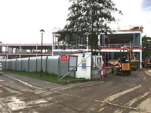 Uckfield College construction 2
