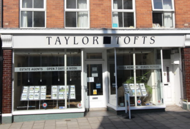 The premises formerly used by Taylor Tofts in Uckfield High Street have been let. Photograph: Oldfield Smith & Co