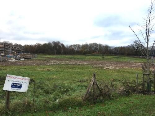 Last land on Ashdown Business Park