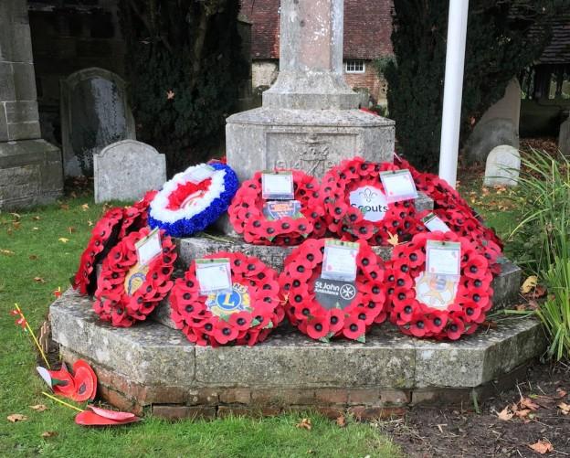 Uckfield war memorial 2019