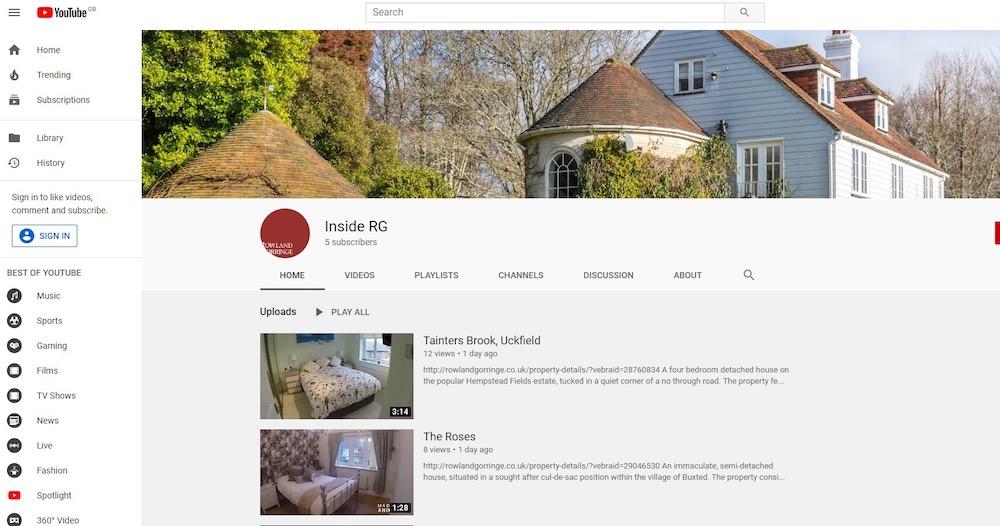 rowland-gorringe-youtube-channel
