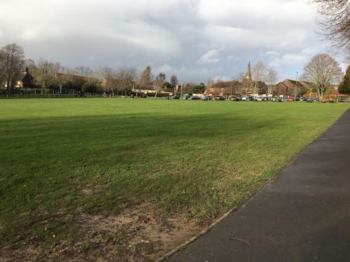 Luxford Field, December 2019