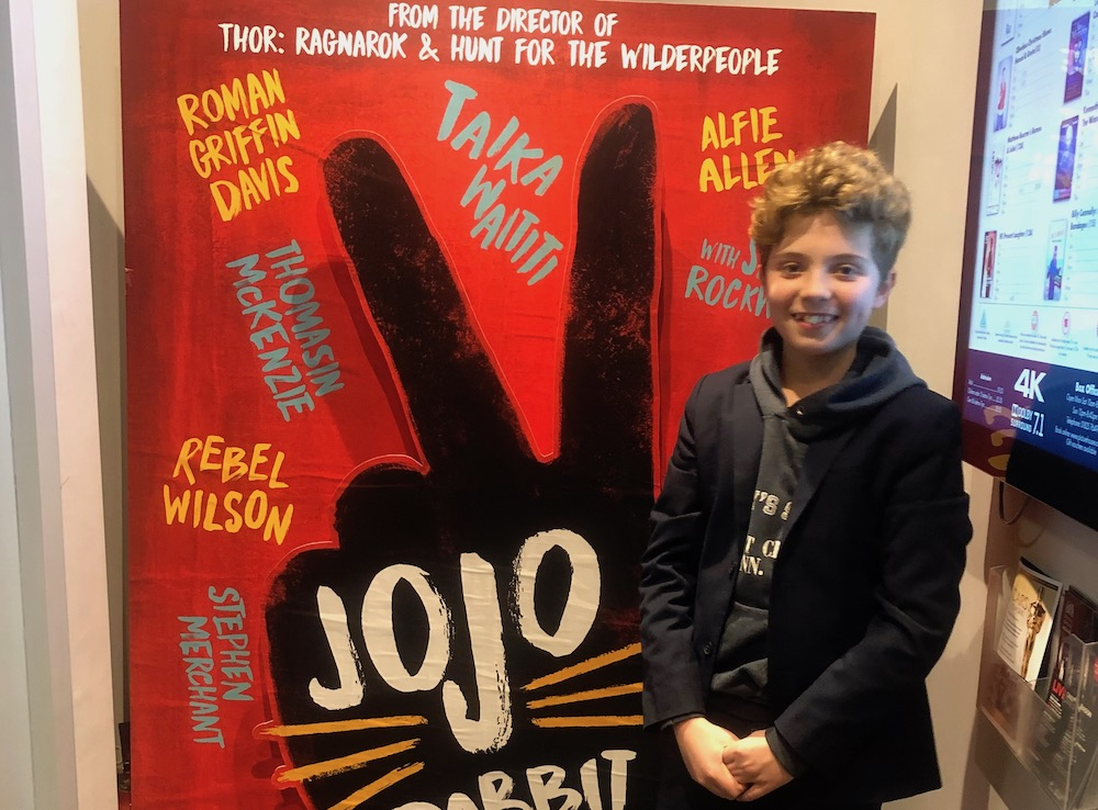 Jojo Rabbit Poster >> Uckfield Boy Stars In Film With Scarlett Johansson