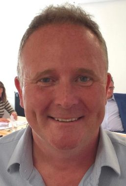 Head and shoulders photograph of Councillor Gary Johnson