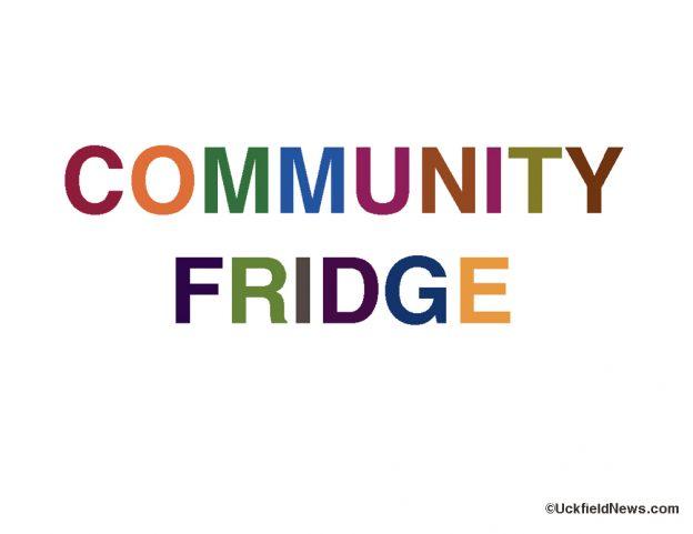 Logo for community fridge made by Uckfieldnews.com